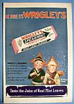 Vintage Ad: 1930 Wrigley's Spearmint Gum