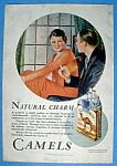 Vintage Ad: 1930 Camel Cigarettes