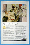 Click here to enlarge image and see more about item 13318: Vintage Ad: 1944 Pullman