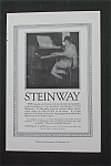 1916 Steinway Piano with Woman at the Piano