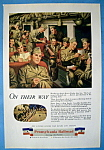 Vintage Ad: 1944 Pennsylvania Railroad
