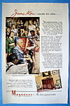 Vintage Ad: 1945 Magnavox Radio Phonograph