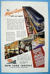Click here to enlarge image and see more about item 13352: Vintage Ad: 1946 New York Central