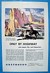 Click here to enlarge image and see more about item 13359: Vintage Ad: 1946 Greyhound
