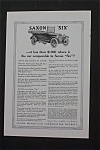 1916 Saxon Six with the Saxon Six Car