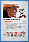 Vintage Ad: 1946 Texaco Dealers