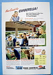 Click here to enlarge image and see more about item 13361: Vintage Ad: 1946 New York Central