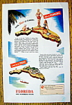 Click to view larger image of Vintage Ad: 1946 Florida (The Sunshine State) (Image1)