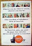 Click to view larger image of Vintage Ad: 1948 Coca Cola (Coke) (Image1)