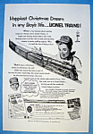 Vintage Ad: 1952 Lionel Trains