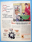 Click here to enlarge image and see more about item 13436: Vintage Ad: 1929 Frigidaire
