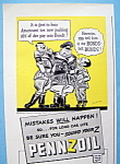 1942 Pennzoil with Saving War Bonds