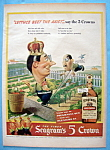 Vintage Ad: 1943 Seagram's Five Crown Whiskey