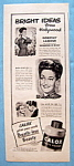 Vintage Ad: 1946 Calox Tooth Powder with Dorothy Lamour