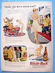 Vintage Ad: 1946 White Rock Sparkling Water