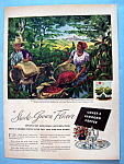 Click here to enlarge image and see more about item 13488: Vintage Ad: 1946 Chase & Sanborn Coffee