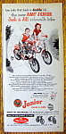 Click to view larger image of Vintage Ad: 1954 AMF Junior Jack & Jill Trikes & Bikes (Image1)