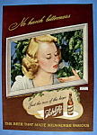 Vintage Ad: 1947 Schlitz Beer