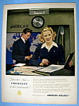 Vintage Ad: 1949 American Airlines