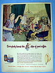 Click here to enlarge image and see more about item 13537: Vintage Ad: 1949 Maxwell House Coffee