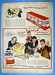 Click to view larger image of Vintage Ad: 1949 Post Toasties Corn Flakes (Image1)