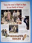 Vintage Ad: 1949 Neolite Soles
