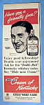 Click here to enlarge image and see more about item 13544: 1949 Cream Of Kentucky w/Man By Norman Rockwell