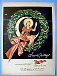 Vintage Ad: 1949 Miller High Life Beer