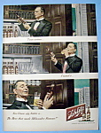 1949 Schlitz Beer with Butler Trying a Bottle of Beer