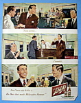 1949 Schlitz Beer with Two Men at the Bar