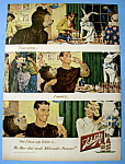 1949 Schlitz Beer with Man Wearing Costume