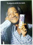 Click to view larger image of 1974 Colt 45 Malt Liquor with Redd Foxx (Sanford & Son) (Image2)