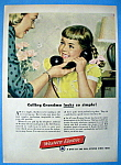 Click here to enlarge image and see more about item 13563: Vintage Ad: 1949 Western Electric