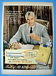 Vintage Ad: 1952 Fatima Cigarettes w/ Paul Henry
