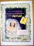 1952 Old Gold Cigarettes w/ Woman Dressed as a Bride