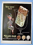 Click here to enlarge image and see more about item 13609: Vintage Ad: 1954 Mars Toasted Almond Bar