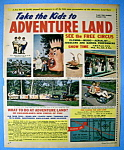 Click to view larger image of Vintage Ad: 1963 Adventure Land Amusement Park (Image1)