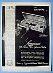 Click to view larger image of Vintage Ad: 1948 Longines Watch (Image1)