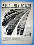 Vintage Ad: 1948 Lionel Trains