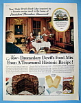 Vintage Ad: 1956 Dromedary Devil's Food Mix