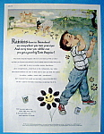 Vintage Ad: 1960 Raisins By Mary Mayo