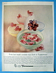 Click to view larger image of Vintage Ad: 1960 Tupperware (Image1)
