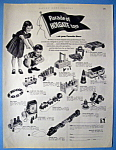 Click to view larger image of Vintage Ad: 1952 Holgate Toys (Image1)