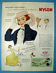 Click here to enlarge image and see more about item 13682: Vintage Ad: 1952 Du Pont Nylon