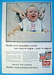 Click to view larger image of 1956 Swift's Meat w/Baby Smiling By Norman Rockwell (Image1)