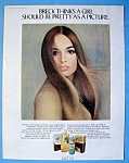 Click to view larger image of 1970 Breck Shampoo with Breck Girl (Image1)