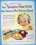 Click here to enlarge image and see more about item 13739: Vintage Ad: 1951 Nucoa Margarine