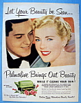 Click to view larger image of Vintage Ad: 1951 Palmolive Soap (Image1)