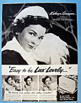 Vintage Ad: 1951 Lux Soap with Kathryn Grayson