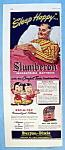 Click to view larger image of Vintage Ad: 1951 Slumberon Innerspring Mattress (Image1)